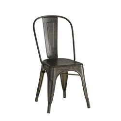 Bowery Hill Metal Dining Chair