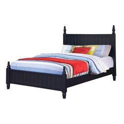 Bowery Hill Poster Bed in Navy Blue