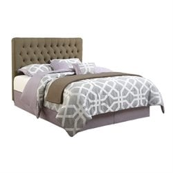 Bowery Hill Upholstered Bed in Burlap