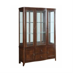Bowery Hill China Cabinet in Cherry