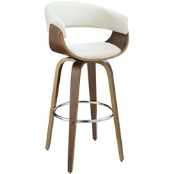 Bowery Hill Upholstered Bar Stool