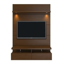 MER-995 TV Stand in Nut Brown 1