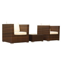 MER-995 3 Piece Rattan Outdoor Sofa Set