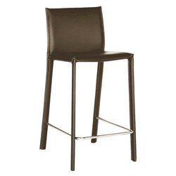 MER-992 Leather Bar Stool