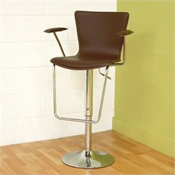 MER-992 Adjustable Leather Bar Stool