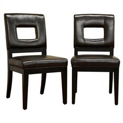 MER-992 Leather Dining Chair