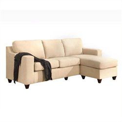 Bowery Hill Right Facing Sectional in Beige
