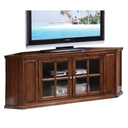 Bowery Hill Corner TV Stand in Oak