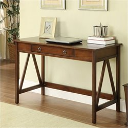 Bowery Hill Writing Desk in Antique Tobacco