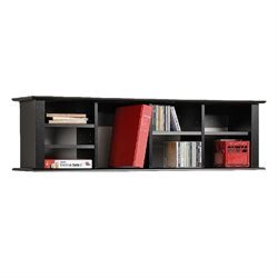 Bowery Hill Wall Display Shelf in Black
