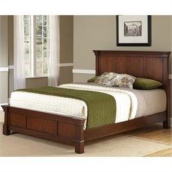 MER-1185 Bowery Hill Bed in Rustic Cherry