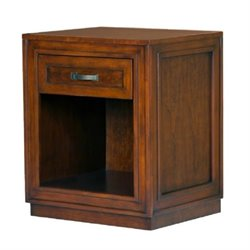 Bowery Hill Storage Nightstand in Cherry