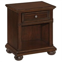 Bowery Hill Nightstand in Dark Cherry
