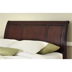 MER-1185 Bowery Hill Sleigh Headboard in Cherry