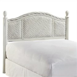 MER-1185 Bowery Hill Panel Headboard in White