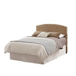 MER-1185 Bowery Hill Panel Headboard in Honey