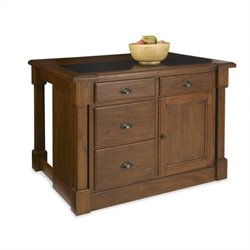 Bowery Hill Kitchen Island with Drop Leaf