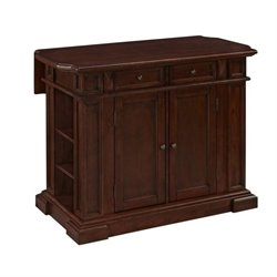 MER-1185 Bowery Hill Kitchen Island in Cherry