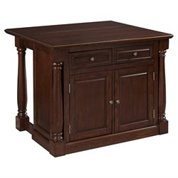 MER-1185 Bowery Hill Wood Top Kitchen Island 2