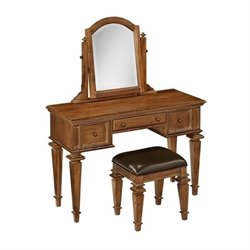 MER-1185 Bowery Hill Bedroom Vanity and Bench
