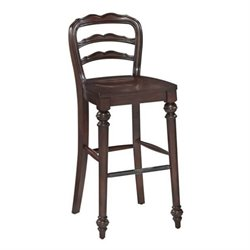 MER-1185 Bowery Hill Classic Stool in Dark Cherry