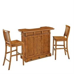MER-1185 Bowery Hill 3 Piece Home Bar Set
