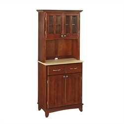 MER-1185 Bowery Hill Buffet with 2 Door Panel Hutch