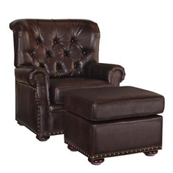 MER-1185 Melissa Accent Chair in Brown 5204