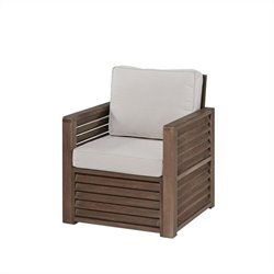 Bowery Hill Patio Chair in Brown