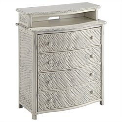 MER-1185 Bowery Hill 4 Drawer Chest in White
