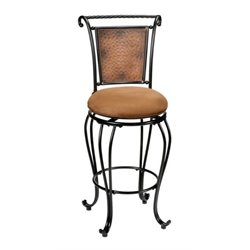 MER-1184 Swivel Bar Stool in Copper 1