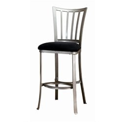 MER-1184 Bar Stool in Pewter