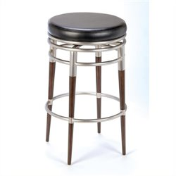 MER-1184 Swivel Bar Stool in Black 6