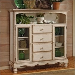 Bowery Hill Buffet Cabinet in Antique White