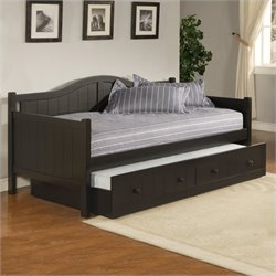MER-1184 Wood Daybed in Black 2