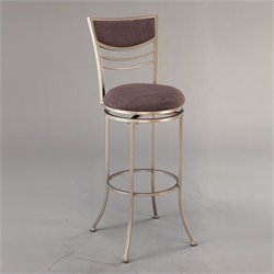 MER-1184 Metal Swivel Bar Stool in Champagne