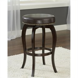 MER-1184 Swivel Bar Stool in Brown and Cappuccino