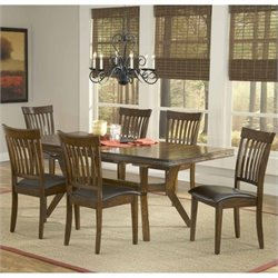 MER-1184 Dining Set in Colonial Chestnut