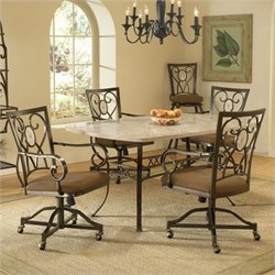 MER-1184 Dining Set in Brown