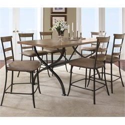 MER-1184 Counter Height Dining Set in Desert Tan 1