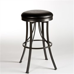 MER-1184 Backless Bar Stool in Pewter