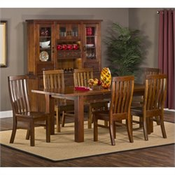MER-1184 Dining Set in Distressed Chestnut