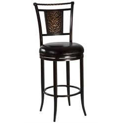 MER-1184 Swivel Bar Stool in Copper