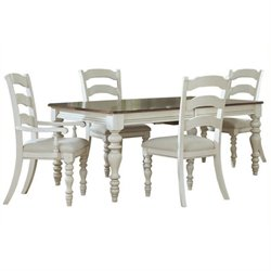 MER-1184 Dining Set in Old White