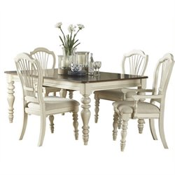 MER-1184 Dining Set in Old White 1