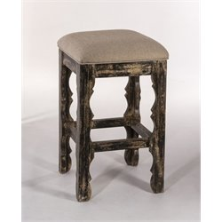 MER-1184 Bar Stool in Blackwash