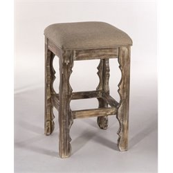 MER-1184 Bar Stool in Whitewash