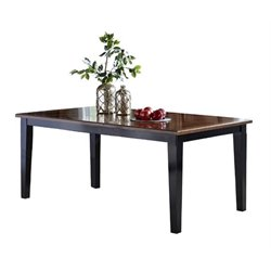 Bowery Hill Extendable Dining Table in Black