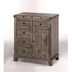 Bowery Hill Accent Chest in Light Gray