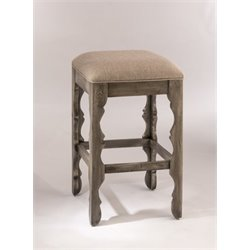 MER-1184 Bar Stool in Graywash